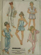 VTG 88 SIMPLICITY 8963 Girls Kimono Camisole Tap Shorts & Pajamas PATTERN 10 UC