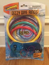 Prim Time Dive Rings Time Diving Masters Dizzy (4 Pack Pool Toys). New