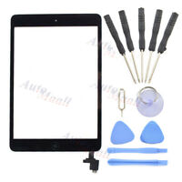 Black Touch Screen Glass Digitizer & Tools for iPad Mini 1 2 A1489 A1490 A1491