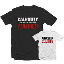 CALL OF DUTY ZOMBIES T SHIRT 1462 - Black Ops 3  COD xBox One PS4 Gamer BO3 Game