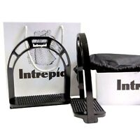 NEW Intrepid International Fast Forward Black Anodized Aluminum Strong Stirrups