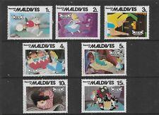 HICK GIRL- MINT MALDIVES STAMPS    DISNEY  ALICE IN WONDERLAND        T206