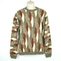 Patrick James Signature Collection Mens Sweater XL Textured Biggie Cosby Coogi