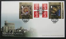 ERROR  PM55 Windsor Castle Book, FIRST DAY COVER With SPECIAL HANDSTAMP 6/2/2017