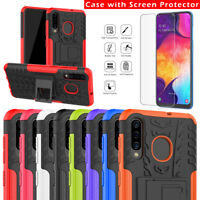 For Samsung Galaxy A10 A20 A30 A40 A50 A70 A80 Shockproof Armor Stand Cover Case