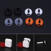 2 Pairs Ultrathin Silicone Earbuds Eartips Cover Upgraded For Airpods Earphones
