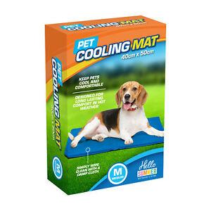 Medium Self Cooling Cool Gel Mat Bed Pet Dog Cat Heat Relief Non-Toxic Summer