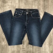 EXPRESS JEANS Stretch Boot Cut Womens 1/2 Long - 26x33