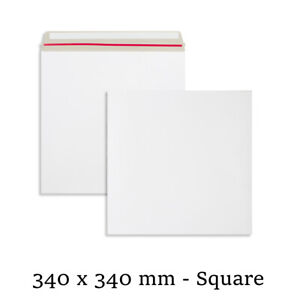 Quality All Board White Envelopes 340x340 mm Size For Calender Cheap Mailer