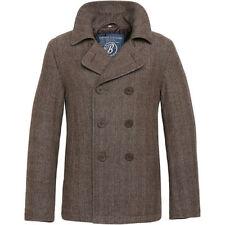 Cappotti e giacche da uomo marrone in lana
