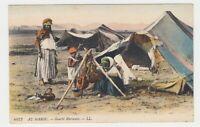 "Marokko - farbige AK ""Marokkanisches Lager"" [Gourbi Marocain] !!!"