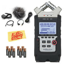 Zoom H4n Pro Handy Recorder w/ APH-4PRO Accessory Pack