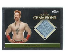 WWE Sheamus 2015 Topps Chrome Event Used Night of Champions Mat Relic Card DWC