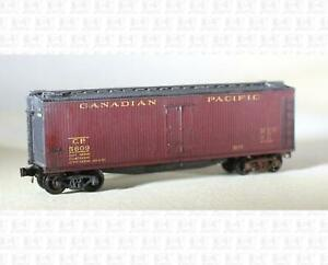 Micro-Trains N Wood Ice Reefer Canadian Pacific
