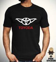 49be086c Toyoda T shirt Car Parody Star Wars Yoda Funny Gift Top Mens STREET FASHION