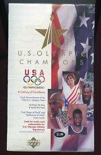 96 UPPER DECK US OLYMPIC CHAMPIONS BOX MICHAEL JORDAN AUTO SEALED DREAM TEAM USA