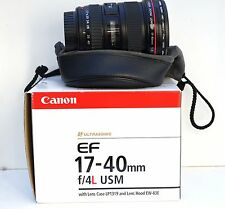 Canon EF 17-40mm f/4L USM Lens HOYA Filter BEAUTIFUL