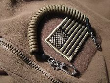 Coyote Brown ReCoil Paracord Lanyard -for- EDC Tactical Backpacks Army Rucksack