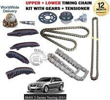 Für BMW E91 Touring 3 Serie Xd Rive 2007- > Obere + Unten Steuerkette Set