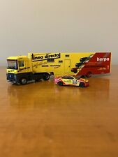 New ListingHerpa 1/87 Renault Hauler w/ Bmw 325i Race Car