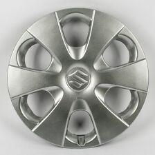 """05-10 SUZUKI Swift AUTO FURGONE rifiniture ruota Hub Caps NERO ca. 33.02 cm 13/"""" 13 in"""