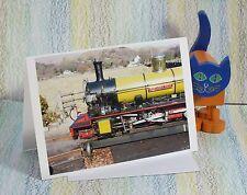"Card: ""Eskdale Railway locomotive Northern Rock"" #PeterBrighousePhotography"