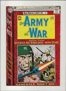 Our Army at War 148 Fine 6.0 Sgt Rock & Easy Co. Joe Kubert Russ Heath Art 1964