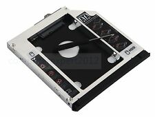 Front Panel + Bracket 2nd HDD SSD Caddy for HP EliteBook 8560w 8570w 8760w 8770w