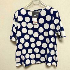 Marimekko x UNIQLO T-shirts Women's S Navy x White Japan Store limited New