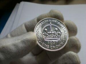1937 Australia Crown coin (UNC) #2