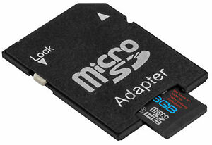 mumbi Speicherkarten Adapter von Micro SD auf SD Kartenadapter Karte Card