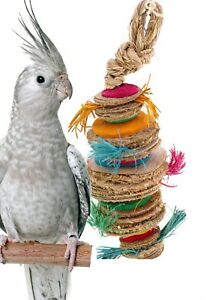 41341 Small Venus Bonka Bird Toys Cage Toy Cages Foraging Chew Shredder Parrot