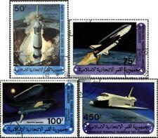 Comoras 625-628 (edición completa) usado 1981 espacio