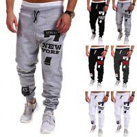 New Men's Casual Pants Jogger Dance Sportwear Baggy Slacks Trousers Sweatpants