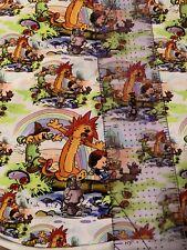 Calvin & Hobbes Wizard Of Oz Custom Tumbler Cut Cotton Blend 9x13 Inches