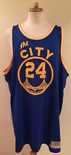 Mitchell Ness M&N Golden State Warriors Authentic Rick Barry Jersey Mens 58 4XL