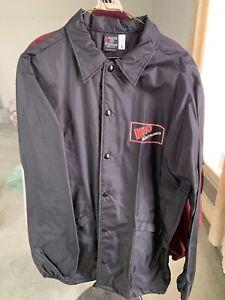Vintage Aristo Jac Hilton Men's Sz L Black Windbreaker Jacket K40 Electronics