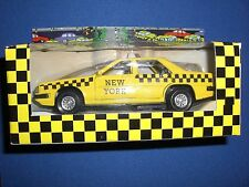 Nyc Yellow Taxi Cab 1:36 Scale, Young Enterprises Of America, In box