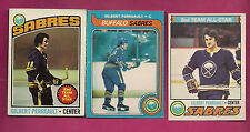 1976 1977 1979   OPC SABRES GILBERT PERREAULT    CARD