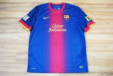 BARCELONA BARCA 2012/2013 HOME FOOTBALL SHIRT JERSEY MAGLIA NIKE ADULT SIZE XL