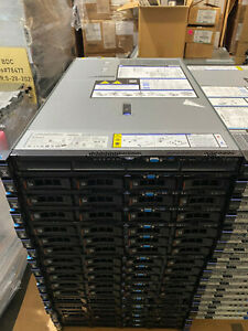 1U IBM x3550 M5 4 Bay SFF SAS3 Server 2x E5-2620 V3 12 Core 16GB DDR4 4x 1GB Nic