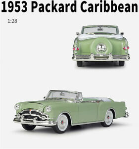 Welly 1:28 For 1953 Pachard Caribbean Diecast Alloy Static Car Model  Mens Gift