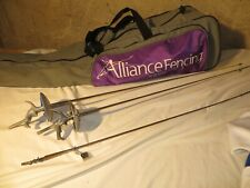 Uhlmann Fencing kit - weapons, handles , foils, gear and case