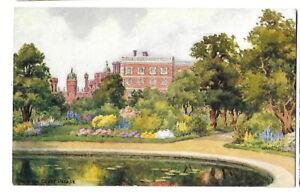 Artist Drawn Postcard J Salmon G Fowell 2649 Hampton Court Palace