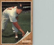 1962 Topps #522 Lindy McDaniel - EX-MT