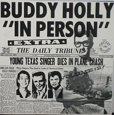 BUDDY HOLLY -  In Person Volume 2 SEALED LP