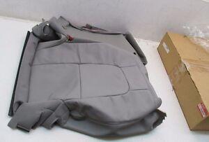 2007 2008 Suzuki XL-7 OEM Right Rear Seat Back Cover Grey Leather 87880-78J20