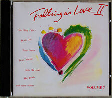 ♥Falling in Love II♥Vol. 7♥CD♥Simon & Garfunkel♥Doris Day♥Ricky Nelson♥Byrds♥