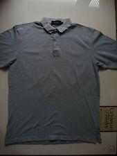 "Pringle Pale Blue ""Pringle Sport"" Polo Shirt, Cotton, Size Medium, 43 Inch Chest"