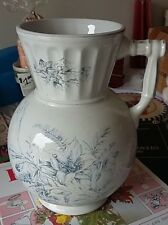Large vintage/antique ceramic/porcelain pitcher ionic